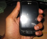 Lg Optimus One P500 hand