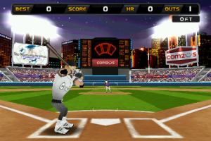 Homerun battle 3D game android baseball
