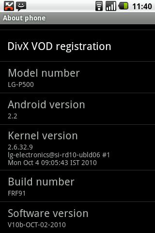 lg optimus me p350 firmware download