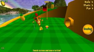 Tiki golf 3D game