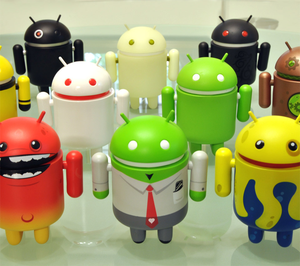 android bot wallpapers | lg optimus one p500