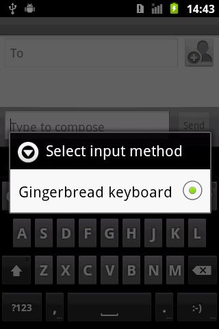 void rom gingerbread keyboard